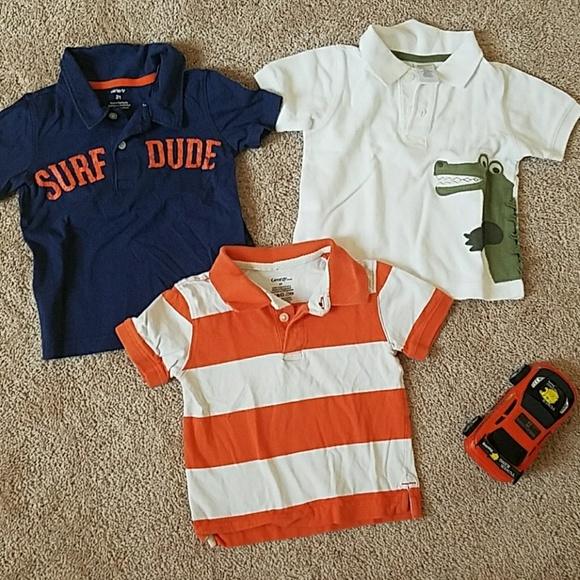 c5a75005e4b0 Toddler Collared polo shirts 2T boy lot